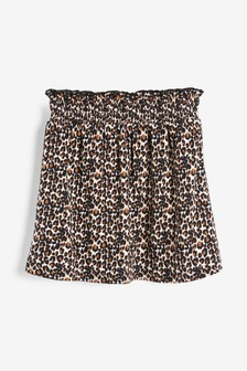 Animal Print Skirt (3-16yrs)