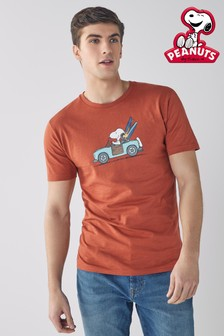 Rust Snoopy Licence T-Shirt