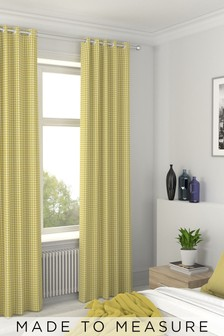 Melrose Sorbet Yellow Made To Measure Curtains