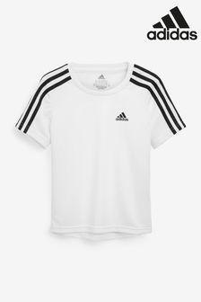 adidas Performance 3-Stripe D2M T-Shirt