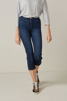 Inky Cropped Slim Jeans