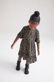 Animal Printed Maxi Dress (3mths-7yrs)