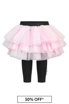Balmain Baby Girls Pink Skirt