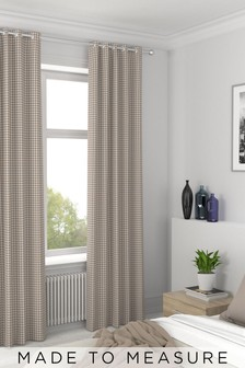 Melrose Wicker Natural Made To Measure Curtains