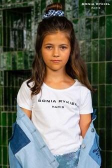 Sonia Rykiel White Logo T-Shirt