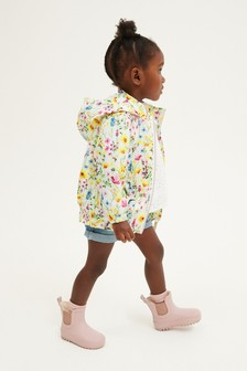 Yellow Ditsy Cagoule (3mths-7yrs)