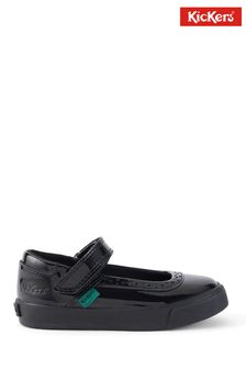 Kickers Infants Tovni Brogue Mary-Jane Patent Leather Shoes