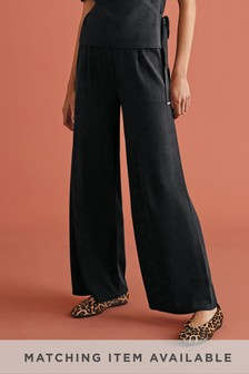 Black Co-ord Trousers
