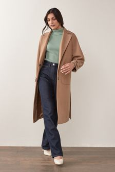 Camel Unlined Coat