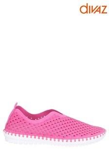 Divaz Pink Onyx Slip-On Summer Shoes