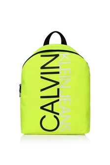 Calvin Klein Jeans Kids Yellow Logo Backpack