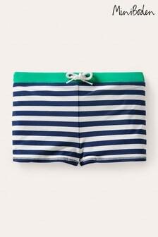 Boden Navy Swim Trunks