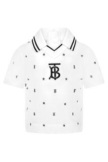 Burberry Kids Baby Boys Black Top