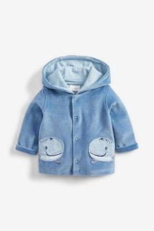 Blue Whale Super Soft Velour Jacket (0mths-3yrs)