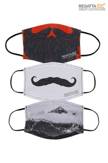 Regatta Adults Fashion Face Coverings Three Pack