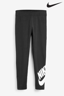 Nike Little Kids Black Leg-A-See Leggings