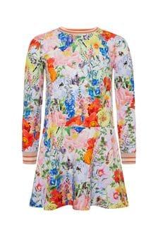 فستان قطن ألوان متعددةبناتي منMolo