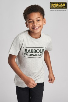 Barbour® International Boys Essential Logo T-Shirt