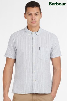 Barbour® Seersucker 10 Short Sleeved Tailored Shirt