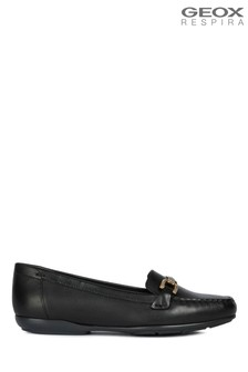 Geox Women's Annytah Moc Black Shoes