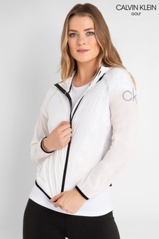Calvin Klein Golf Lifestyle Windbreaker Full Zip Jacket