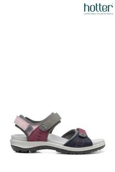 Hotter Walk II Touch Fastening Open Sandals
