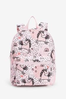 Pink Unicorn Rucksack