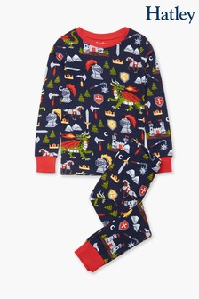 Hatley Knights & Dragons Organic Cotton Pyjama Set