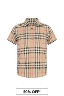 Boys Vintage Check Fredrick Shirt