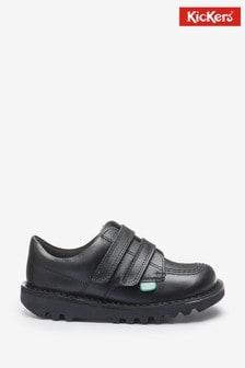 Kickers Infants Kick Lo Velcro Leather Shoes