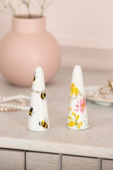 Set of 2 Floral Jewellery Box