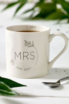 Wedding Mrs Mug