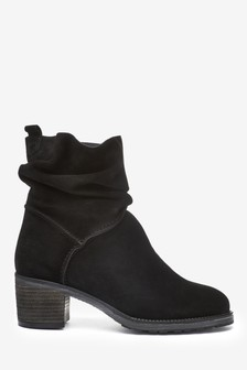 Black Forever Comfort® Slouch Pull-On Boots