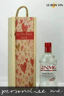 Personalised Love You Forever Dry Gin Gift by Le Bon Vin