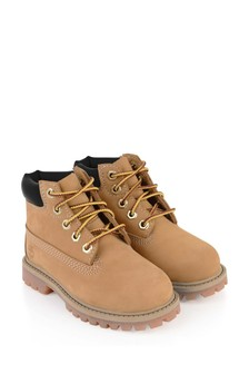 Kids Chestnut Premium WP Boots