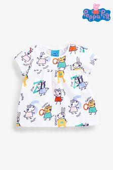 Peppa Pig Alphabet Print Cotton T-Shirt (3mths-7yrs)