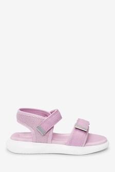 Lilac Sporty Sandals (Older)