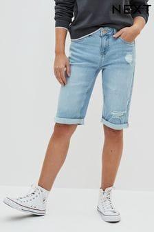 Bleach Ripped Knee Shorts