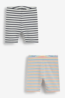 Rainbow 2 Pack Jersey Shorts (3mths-7yrs)