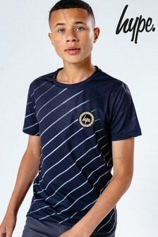 Hype. Kids Black Trontopia T-Shirt