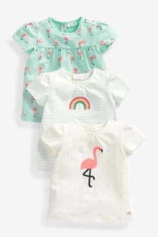 Bright 3 Pack Character Tops (0mths-2yrs)
