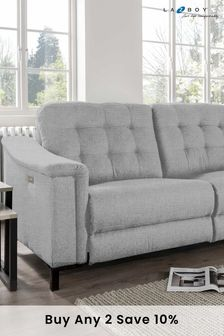 Cloud Marlin Large Recliner Sofa by La-Z-Boy