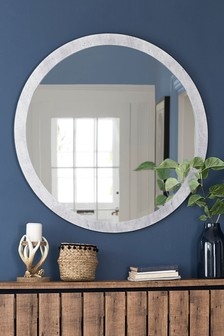 Concrete Effect Mirror