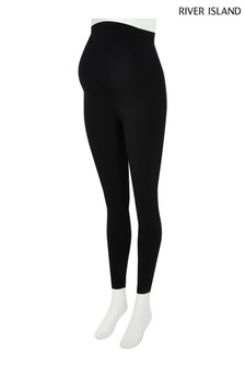 River Island Black Maternity Leggings