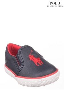 Ralph Lauren Navy Harbour Shoes