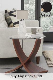 Siena Walnut Lamp Table By Jual