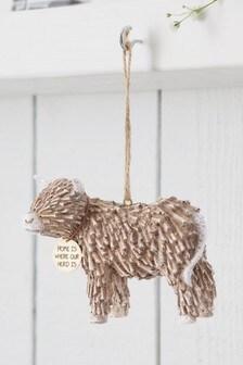 Hamish Highland Cow Hanging Ornament
