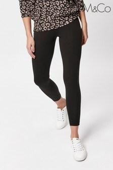 M&Co Petite Black Jegging Jeans