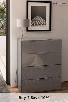 Grey Frank Olsen Smart Chest Of Drawers