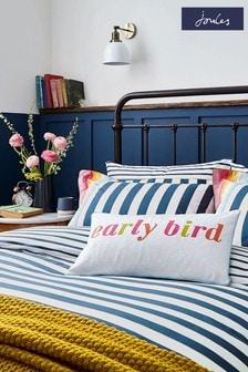 Set of 2 Joules Cambridge Stripe Pillowcases